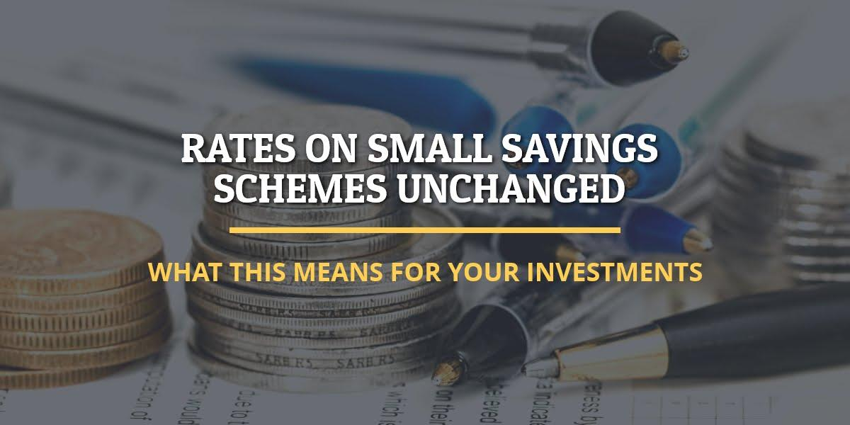 Small saving schemes unchanged