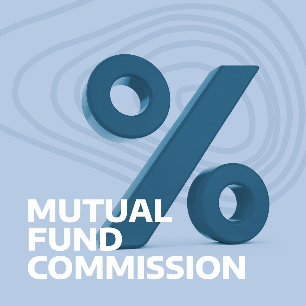 mutual fund commission