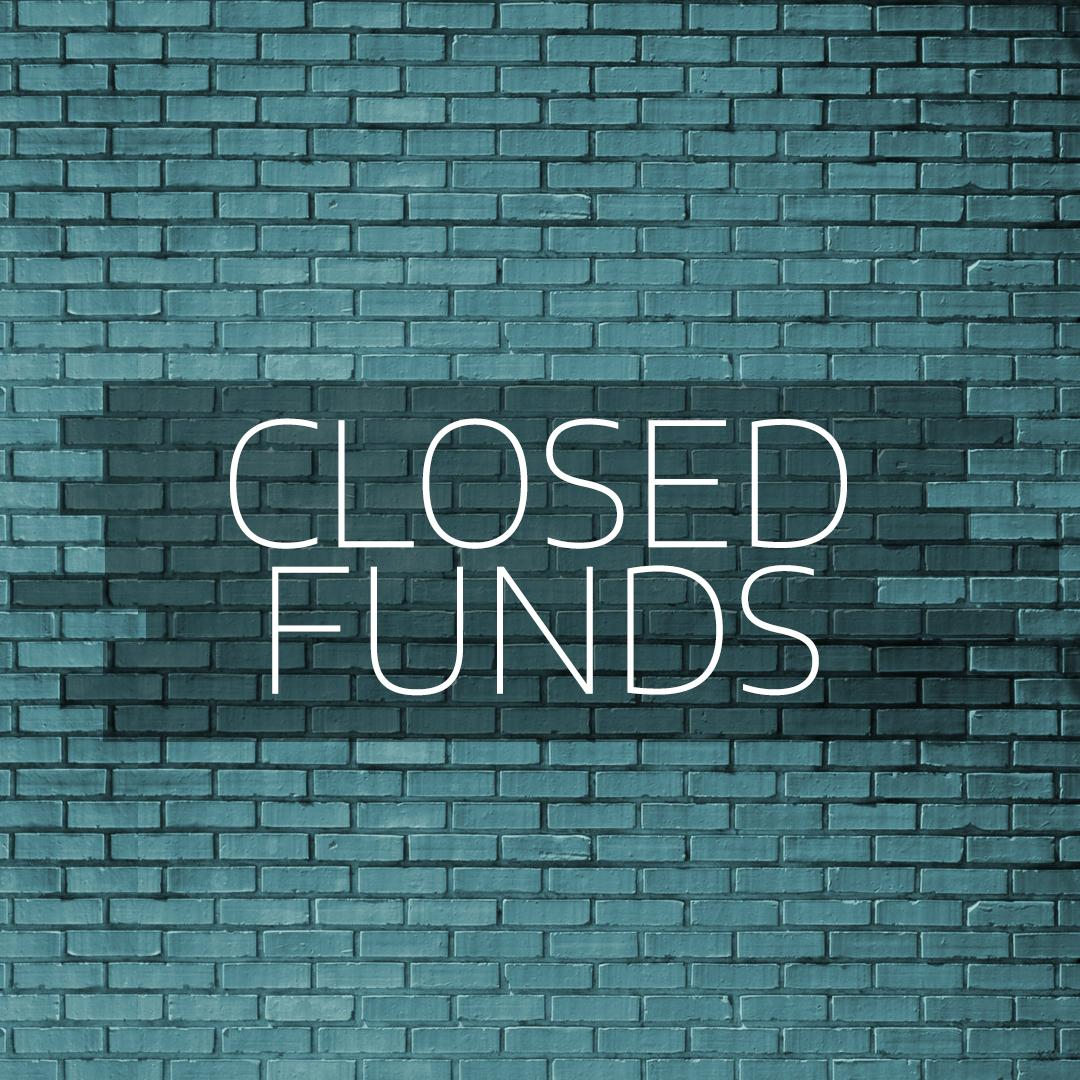closed-ended funds