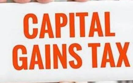 Capital Gain taxes
